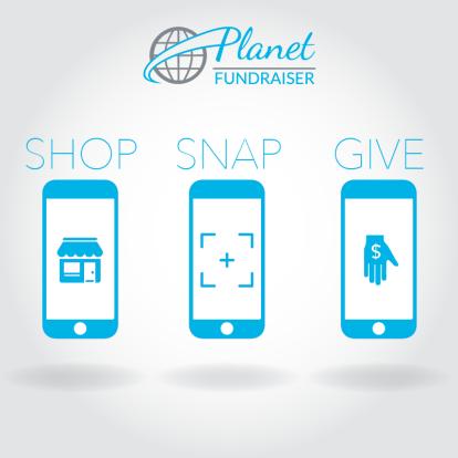 planet fundraiser social media